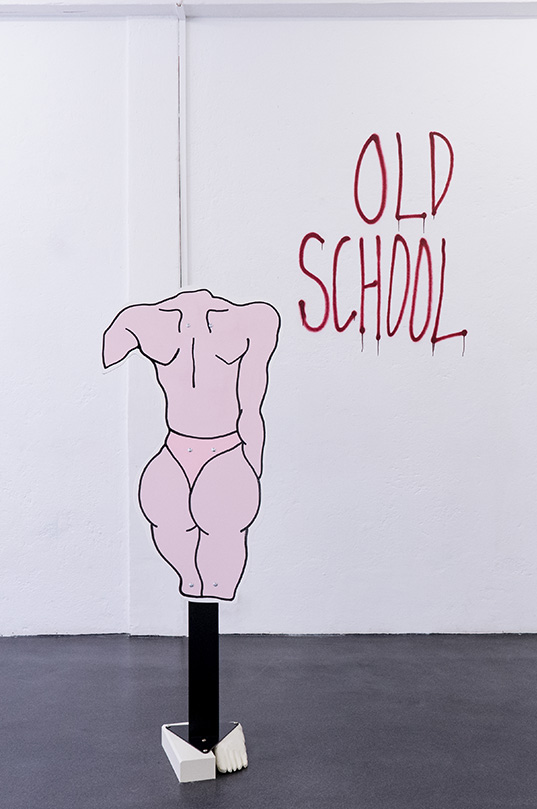 Sculpture Kodomo sonnenstube Luca Loreti
